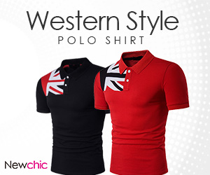 Mens Western Style Short Sleeve Turn-down Collar Polo Shirts