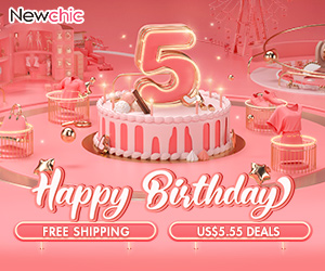 Newchic 5th Anniversary Promotion