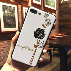 Vintage Floral Emboss Style TPU Phone Case