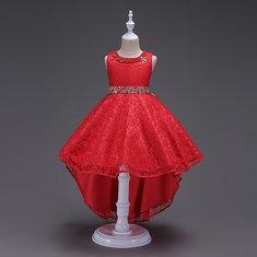 Girls Trailing Princess Dress 6Y-15Y