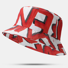 Red Painted Embroidery Design Breathable Hat Accessories
