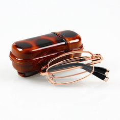 Foldable Reading Glasses With Glasses Case