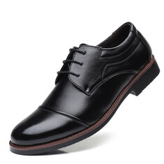 Men Leather Non Slip Casual Formal Shoes