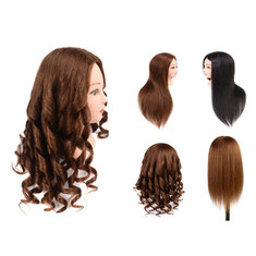 80% Human Hair Training Head