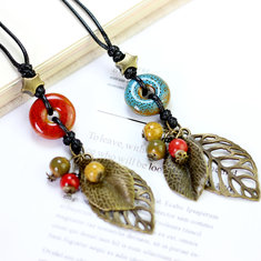 Vintage Pendant Handmade Necklace