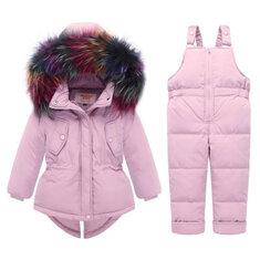 Capispalla Baby Down Snow Set per 0-36M