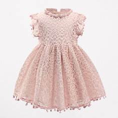 Lace Flower Girls Dresses For 1Y-7Y