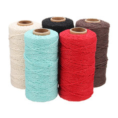 100% Craft Twine Rustic String Natural Cotton Rope