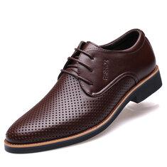Мужская обувь с нескользящей кожаной формой