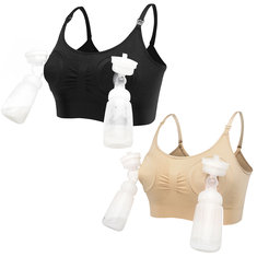 Breast Bump Wireless Nursing Bra