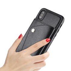 Fashion Card Package Leather Flip Wallet Phone Case