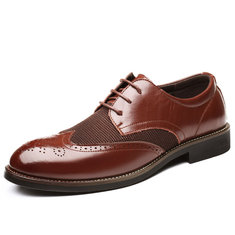 Oxford taille haute hommes brogue