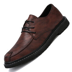 Men Casual  Business Leather Shoes