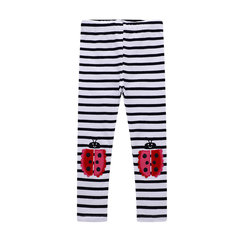 Girls Striped Printed Pant For 1-9Y