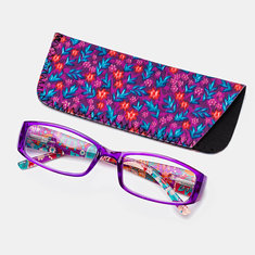 4-Color Square Frame Reading Glasses