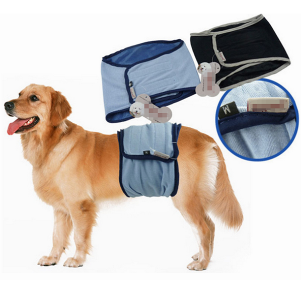 Male Dog Puppy Belly Wrap Band Toilet Training Diaper Sanitary Pants Underwear