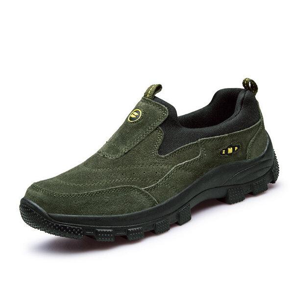 Men Sport Outdoor Slip On Casual Athletic Hiking Sneakers