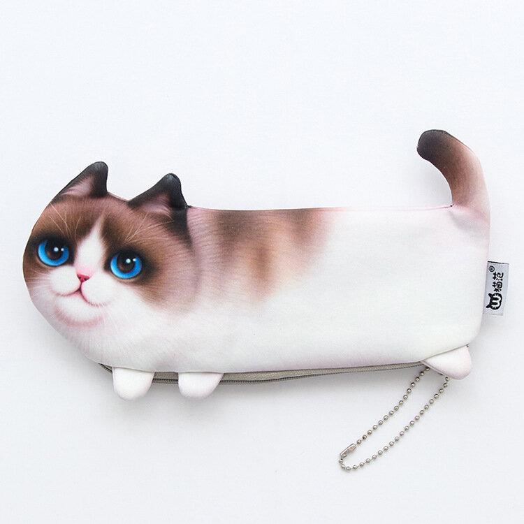 Katze-Federmäppchen