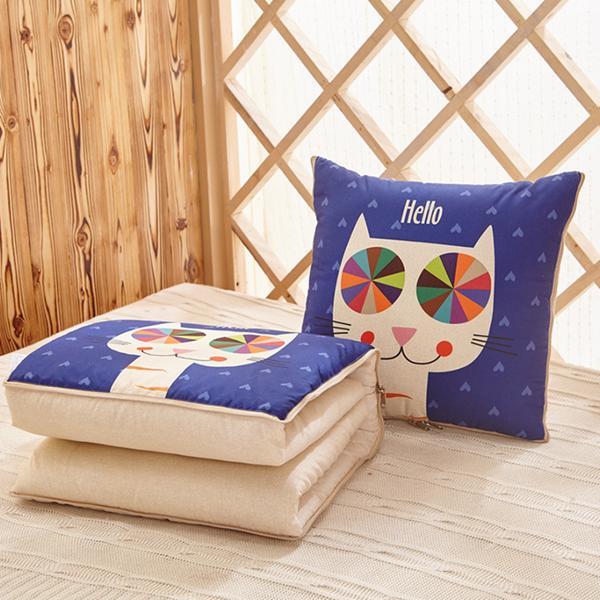 Coperta multifunzionale pieghevole del cuscino della trapunta del cuscino dell'aria condizionata