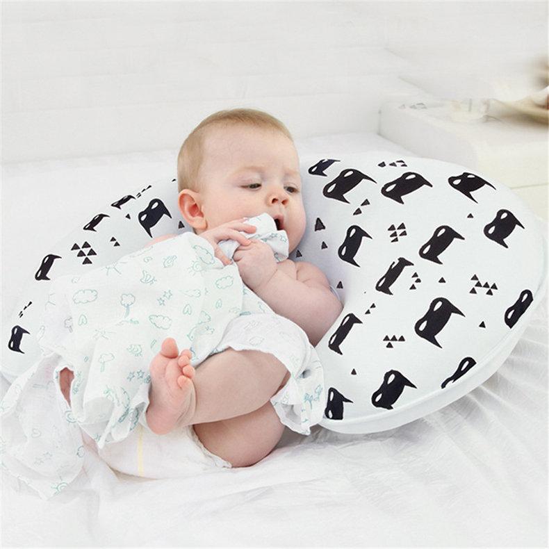 Cuscini per allattamento per neonati Cuscino per allattamento maternità per neonati Cuscino per neonato in cotone a forma di U