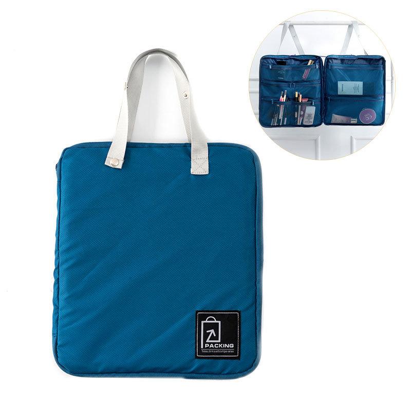 Honana Portable Travel Cosmetics Storage Bag Waterproof Toiletry Passporrt Ticket Organizer HN-TB41
