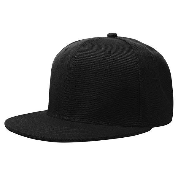 60cm Men Women Plain Fitted Cap Solid Flat Blank Color Baseball Hat