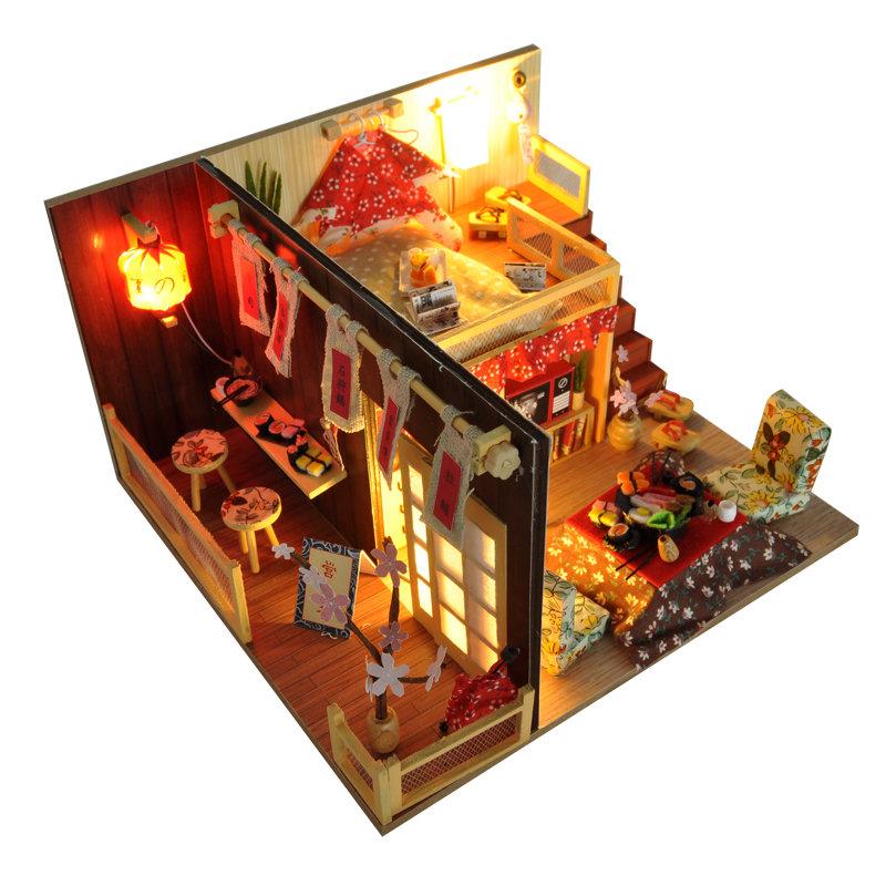 DIYキット桜物語家LED  カバー家の家具モデル