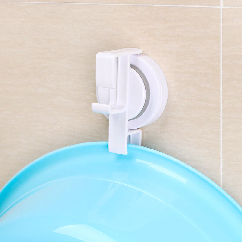 Traceless Suction Cups Bath Rack Tray Wash Basin Hook Face Frame Tray Clamp