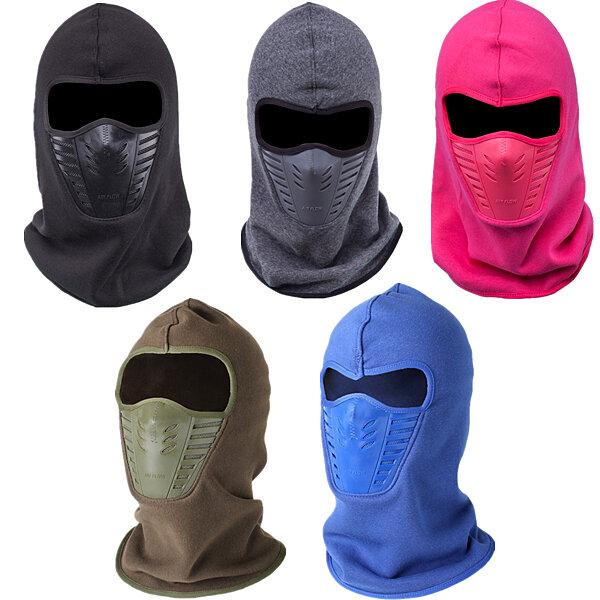 الرجال النساء الشتاء الرقبة قناع الوجه الحراري الصوف CS قبعة تزلج هود خوذة قبعات