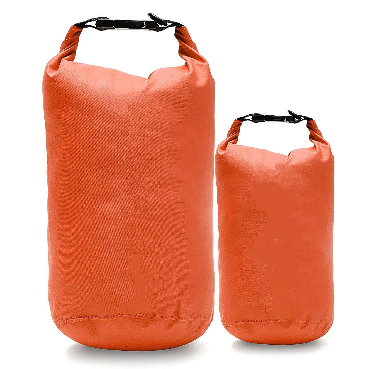 आईपीआरआई ™ 2-5L यात्रा निविड़ अंधकार सूखी थैली पाउच बहाव तैराकी राफ्टिंग स्टोरेज पैक कयाकिंग कैम्पिंग
