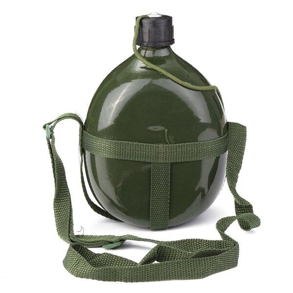 1.5L Военная столовая Алюминиевый велосипед Велоспорт Военная бутылка с водой