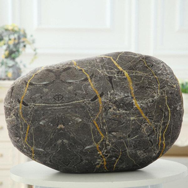 クリエイティブ3Dシミュレーション石枕背もたれ石畳クッション誕生日ギフトソファ家の装飾