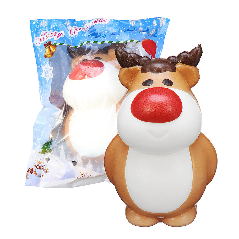 Cooland_Christmas_Reindeer_Squishy_Soft_Slow_Rising_With_Packaging_Collection_Gift