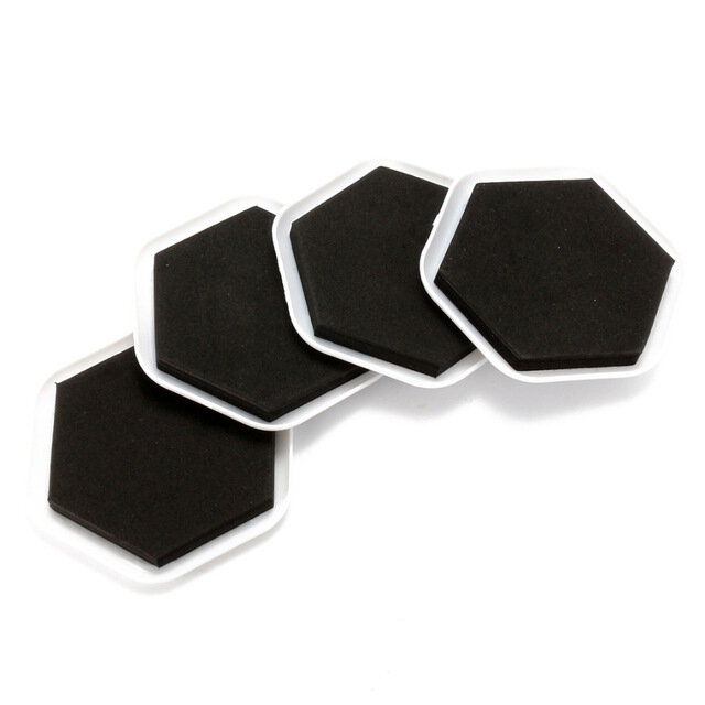 4Pcs Furniture Moving Sliders Mover Pads Moving Furniture Slider Hardwood Floor Protectors