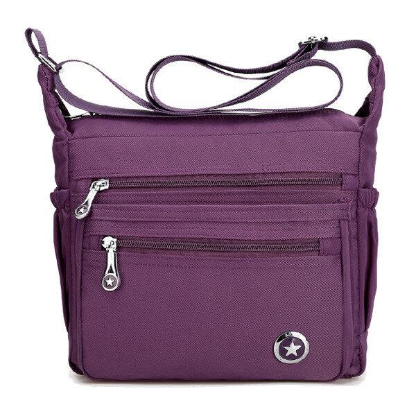 Women Front Pockets Shoulder Bags Light Crossbody Bags High-end Outdoor Sports Bag