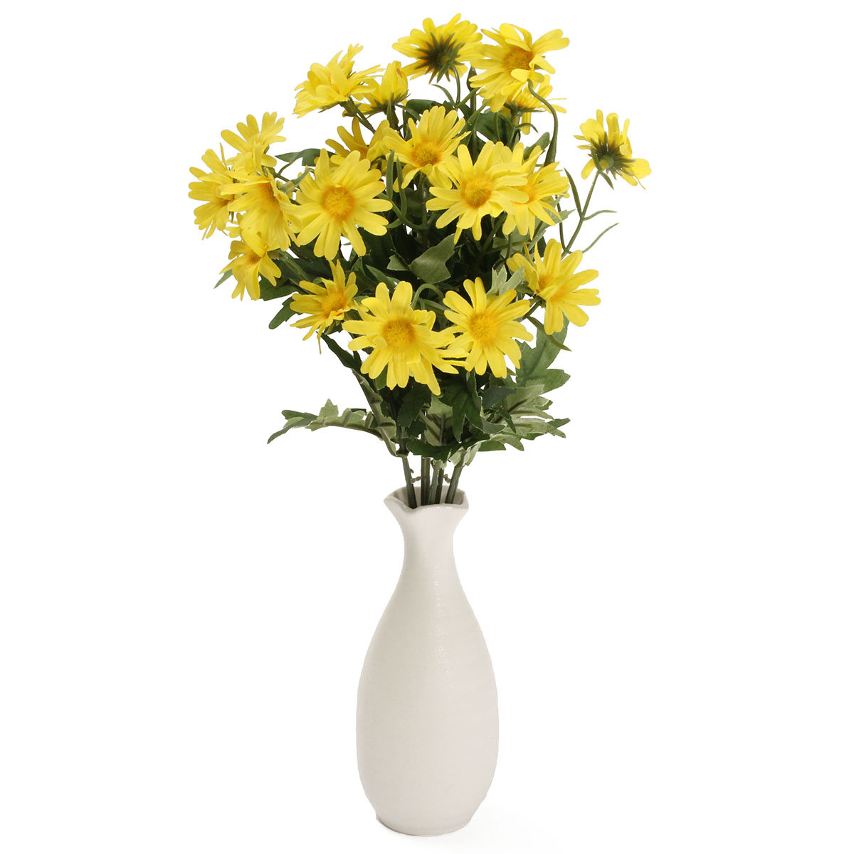 24 Heads Artificial Flower Daisy Bouquet Fake Flowers Blossom Party Wedding Table Decoration