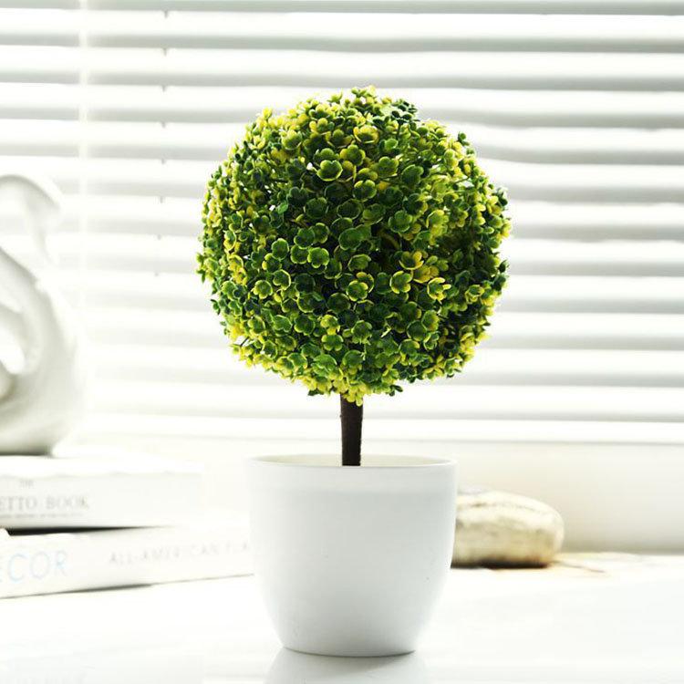 オフィス装飾的な木鉢植えの植物鉢植えのポット装飾的な装飾