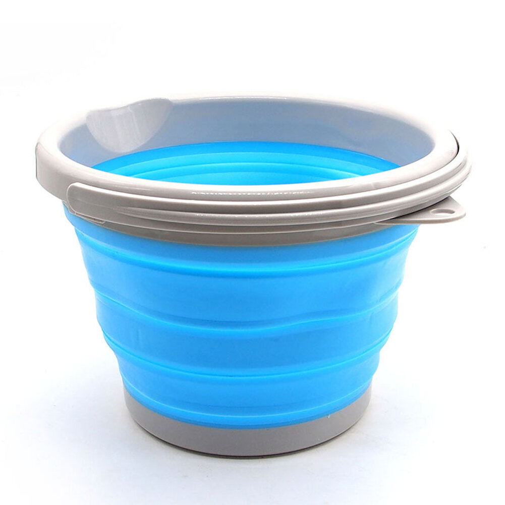 IPRee® 5L Folding Water Bucket Silicone Ice Beer Wine Bottle Barrel Pail Container
