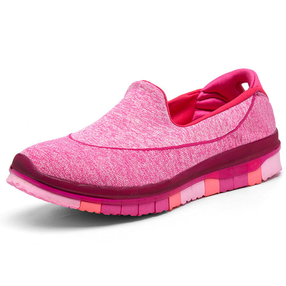 Comfortable Walking Lazy Slip On Sneakers For Women