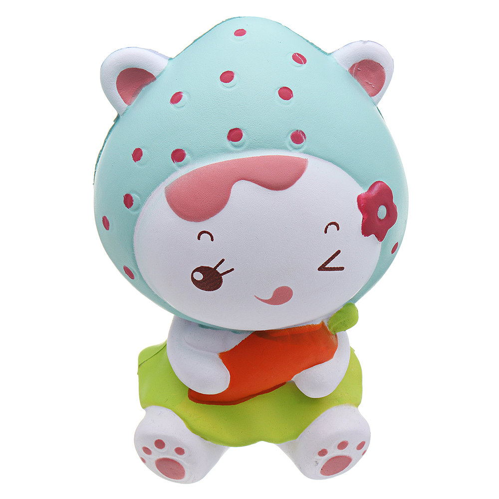 Strawberry Girl Squishy Slow Rising With Packaging Collection Gift Soft Toy