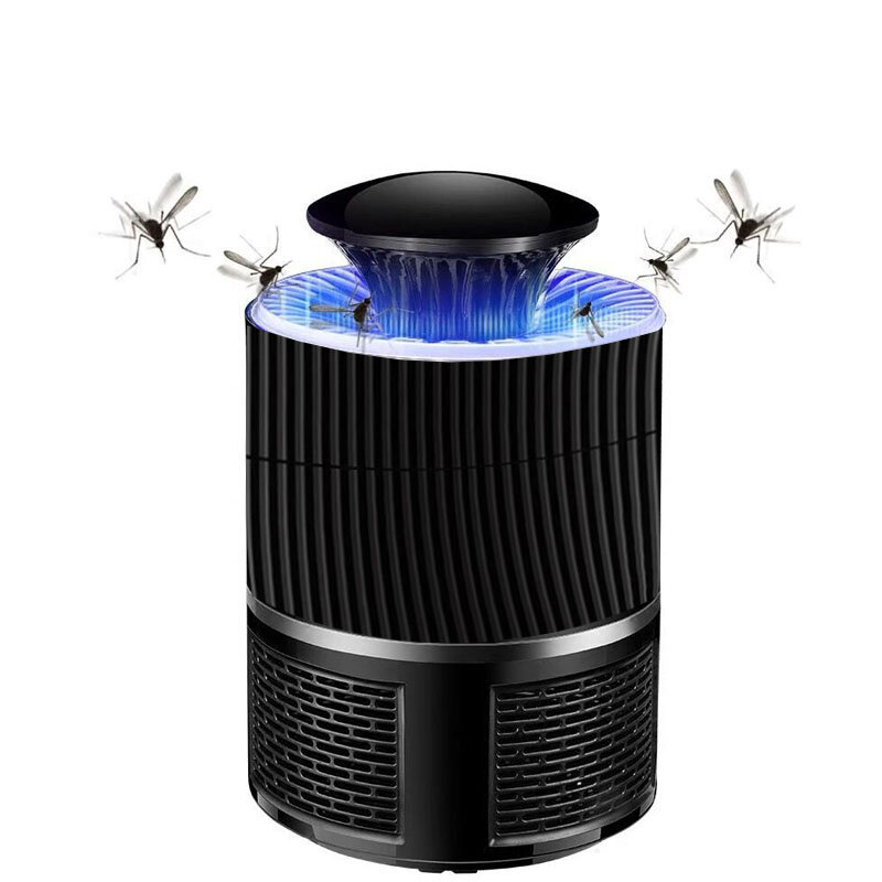 5W LED Mosquito Killer Lamp USB Insect Killer Lamp Bulb Non-RadiativePest Mosquito Trap Light For Camping
