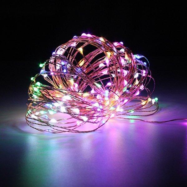 क्रिसमस पार्टी होम सजावट के लिए 20 एम आईपी 67 200 एलईडी कॉपर वायर फेयरी स्ट्रिंग लाइट