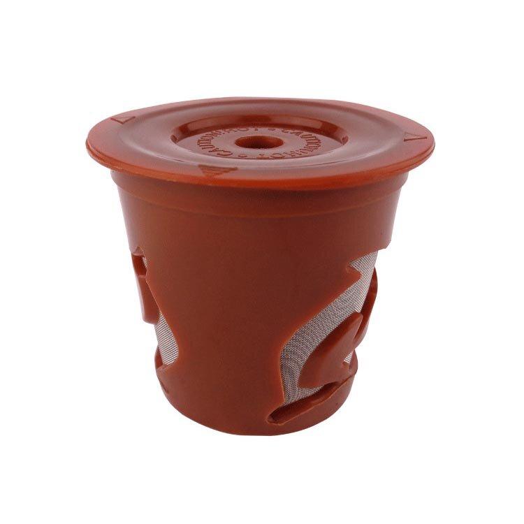 KCASA KC-COFF13 Многоразовый фильтр Дойфин многократного цвета чашки капсулы кофе многоразовый пополняющий для н