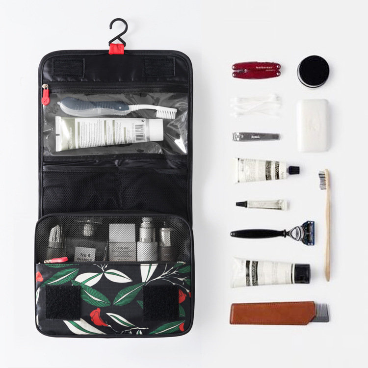 Waterproof Vintage Bathroom Travel Storage Makeup Bag Organizer Cube Pouch Wash Bag