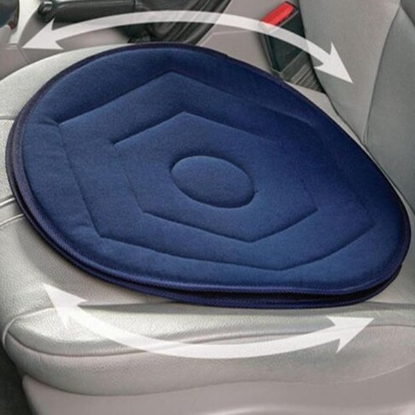 Car Rotating Seat Mobility Aid Cushion With Memory Foam Home Office Chair Neck Cushions