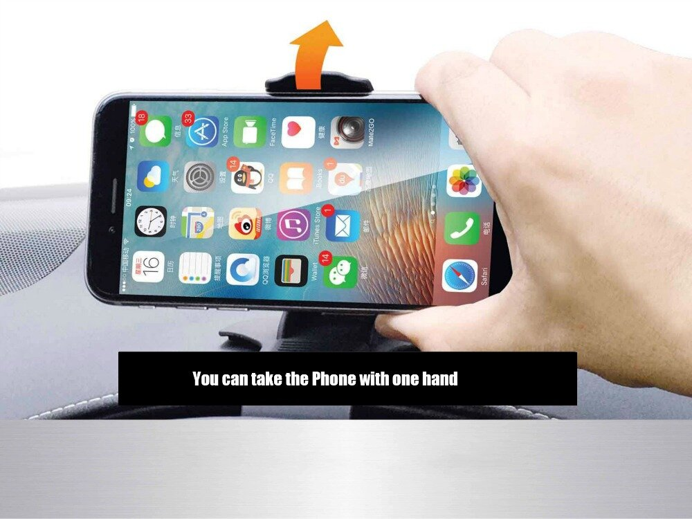 Bakeey™ ATL-1 Universal Non Slip Dashboard Car Mount Holder Adjustable for iPhone iPad Samsung GPS Smartphone
