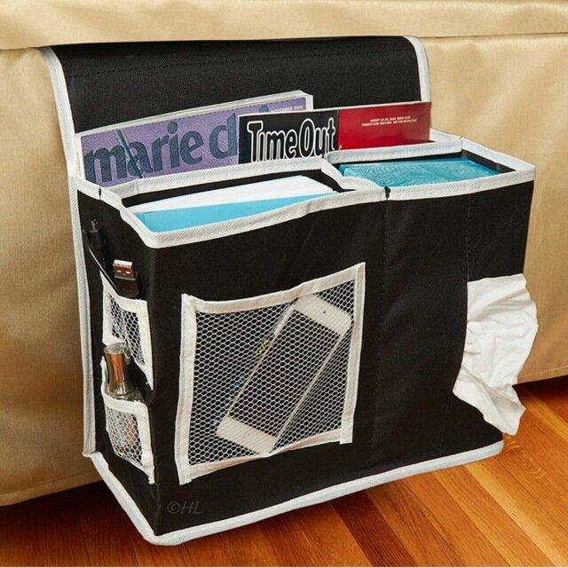 32x14x25CM Bedroom Bedside Bag Oxford Cloth StorageBag Sundries Arranged Sofa Bedding Accessory