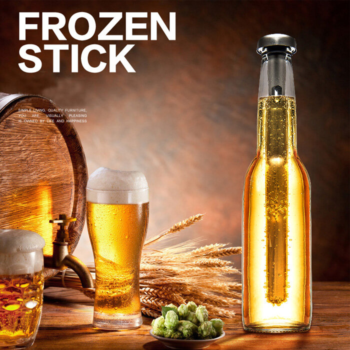 Stainless Steel Beer Wine Cooling Stick Frozen Stick Chiller Cooler