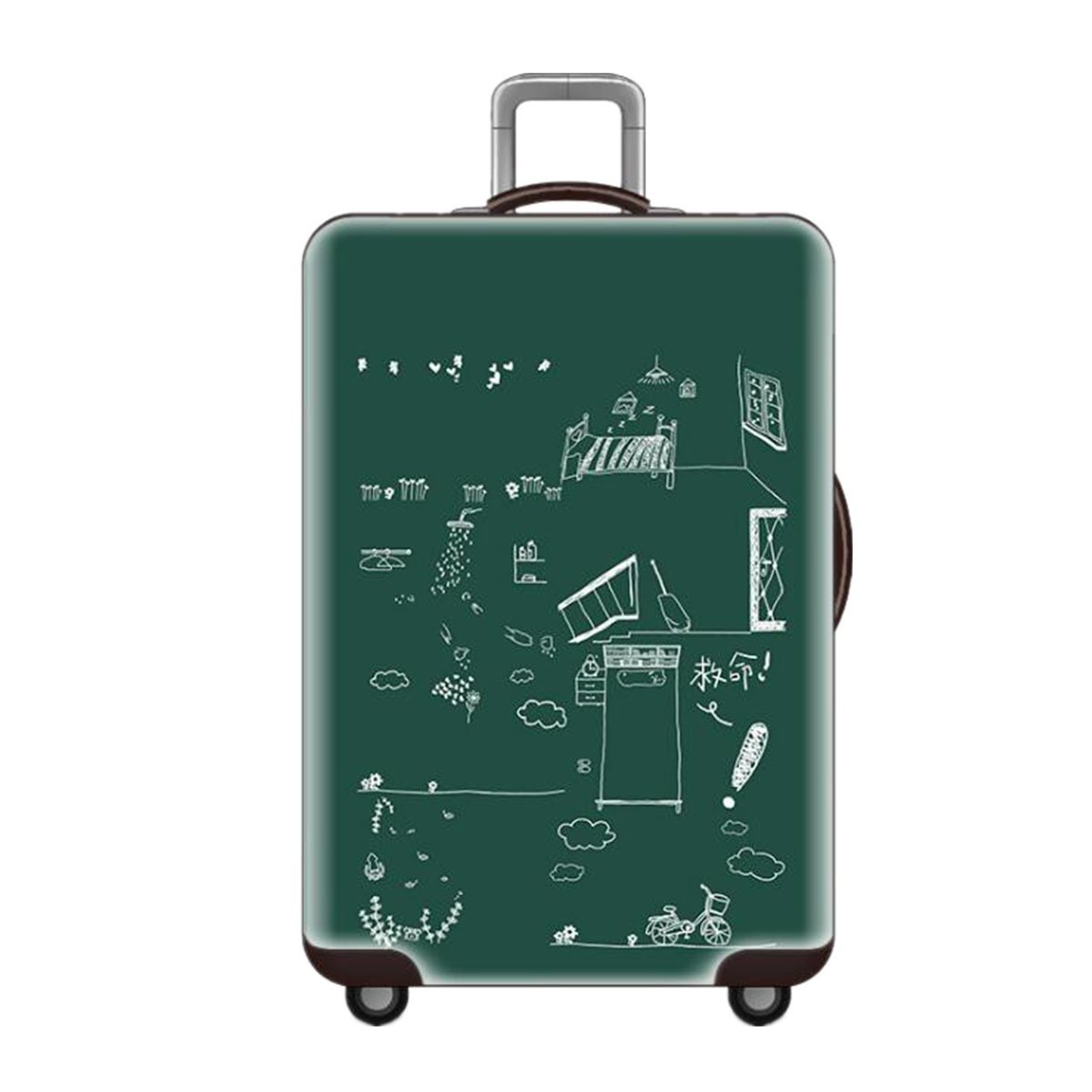 Elastic Luggage Cover Travel Suitcase Protector Dustproof Protection Trolley Case