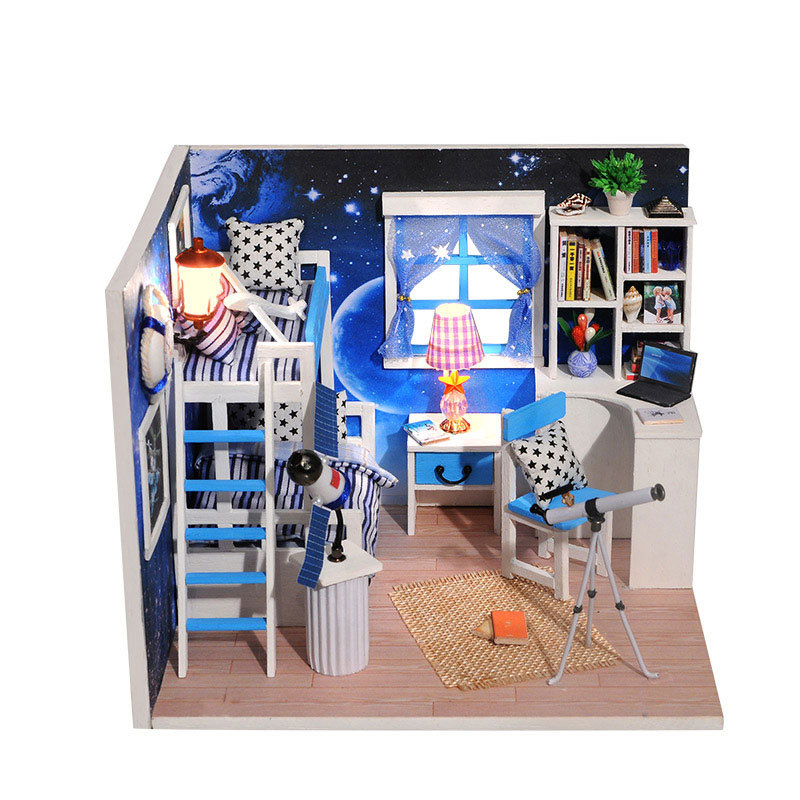 Cosmic_Space_DIY_Dollhouse_With_Furniture_Light_Music_Cover
